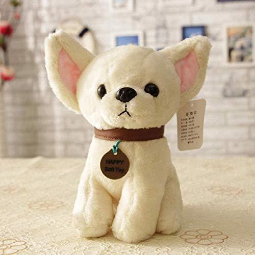 siyat Das Plüsch-Spielzeug-Plüsch-Spielzeug-Welpe Nette heisere Plüsch-Hundepuppe-Mini-Welpen-Puppe @ 20cm Jikasifa