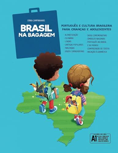 Brasil na Bagagem: Português e cultura brasileira para crianças e adolescentes (Portuguese Edition)