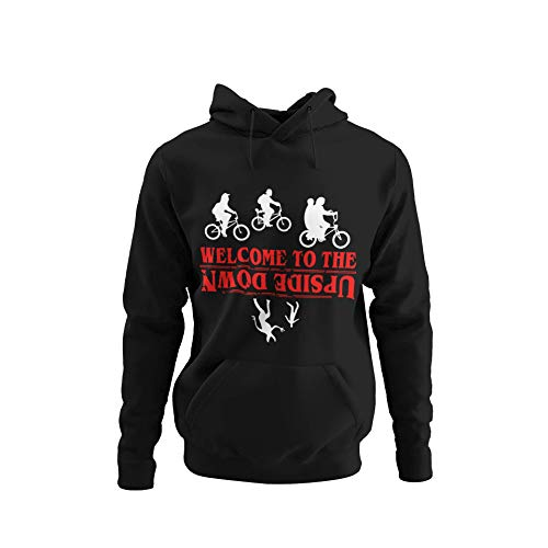 Welcome To The Upside Down Stranger Things Sudadera con Capucha XXL STR11