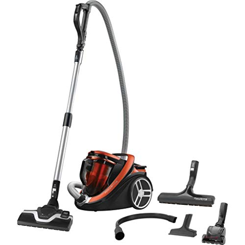 Rowenta - ro7673ea - Aspirateur sans sac a+aaa 67db orange silence force cyclonic home & car