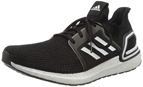 adidas Men's Ultraboost 19 Running Shoe, CBLACK/CBLACK/GREFIV, 8 UK