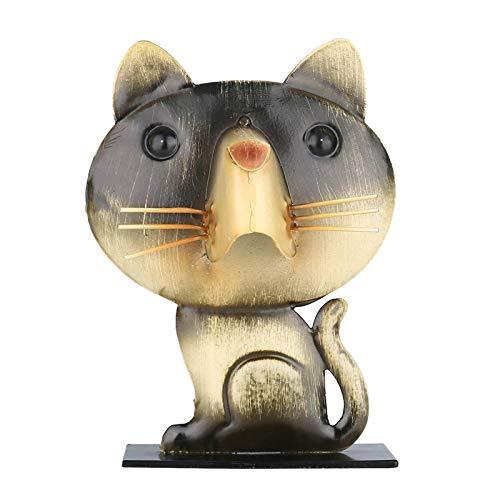 Almencla Soporte Portátil para Gafas con Forma de Gato, Decoración de Oficina en Casa, Escritorio, Soporte para Anteojos