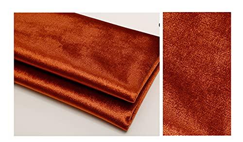 縫製用素材、高級クッションソフトパックプレーンフランネルハンドメイドdiyクロス、フリースファブリック、から選択する様々な色(Size:L1mxW1.5m,Color:ブラウンコーヒー)