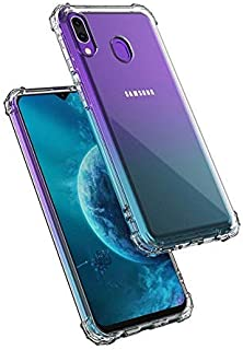 amagav flexible shockproof transparent tpu back cover case cover   ultimate edge protection   bumper corners with air cush...