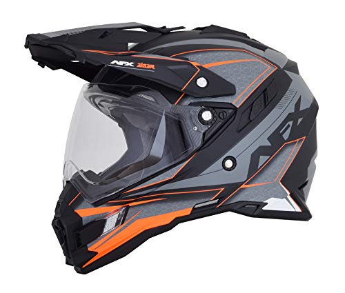 HELMET FX41 FR-GY/N-OR MD