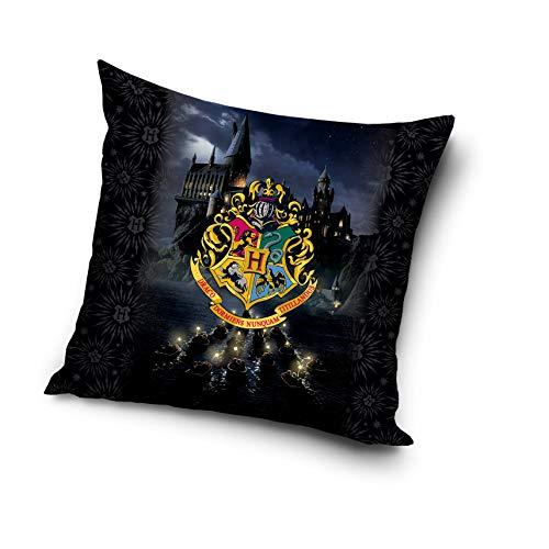 Harry Potter Kissen Dekokissen Zierkissen gefüllt 40 cm x 40 cm HP192007