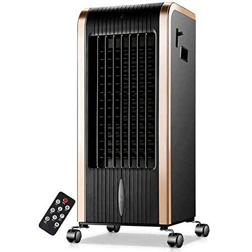 Yipianyun Aire Acondicionado Ventilador, Frío Y Cálido Control Remoto Torre Torre Fan Office Oficina De Enfriamiento Rápido Enfriamiento Rápido,Negro