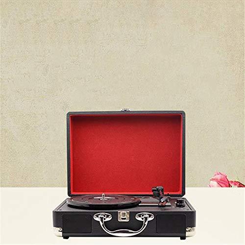 Tocadiscos Día caja de regalo Vintage Vinyl Multi-funcionales ...