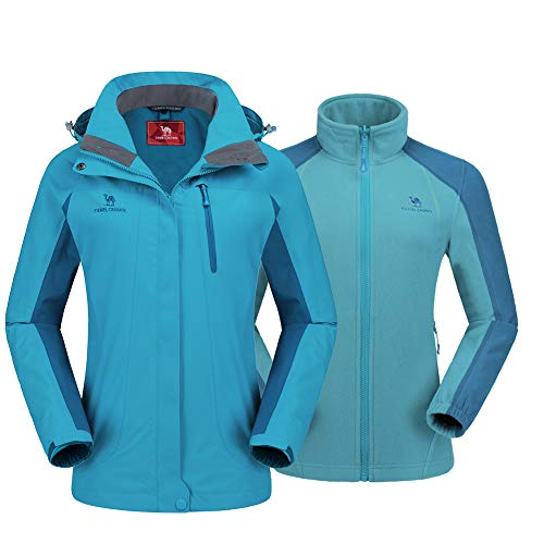 CAMEL CROWN Women's Ski Jacket Winter Jacket...