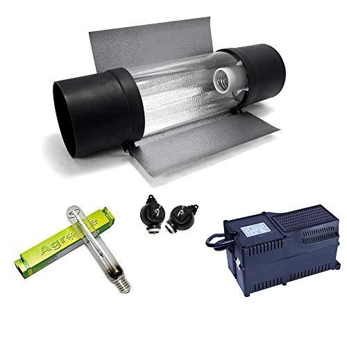Kit de iluminación 600W SHP Agrolite + Balastro Agrolite clase 2 + Cooltube Protube