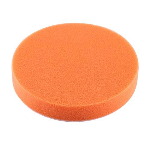 """Almohadillas de pulido de esponja, almohadillas de pulido de pulido, 10 piezas de 6 """"(150 mm) Kit de adaptador de almohadilla de encerado de pulido de esponja herramienta para pulidora automóviles"""