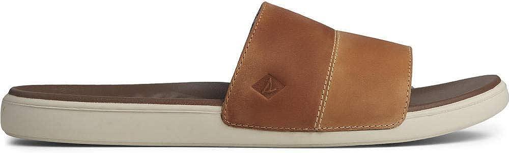Sperry Men's Plushwave Dock Slide Leather Sandal