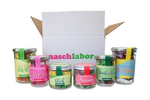 Für alle Fälle Box von Naschlabor - Habe für jeden Anlass ein Geschenk parat und beschenke deine Freunde und Familie