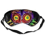 Sleeping Mask 100% Blackout,The Legend of Zelda The Ancient Evil Majoras Mask Sleep Mask,Night Masks,Super-Smooth Eye Mask