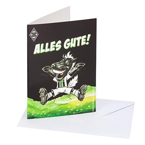 Borussia Mönchengladbach Geburtstagskarte Jubel-Jünter