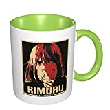 IUBBKI Rimuru Tempest That Time I Got Reincarnated as A Slime Anime 3d Pattern Ceramic Coffee Mug