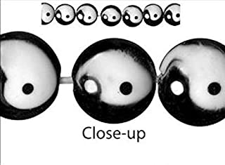 9 Black White Yin Yang Lampwork 16x10mm Puffy Coin Disc Beads Crafting Chain Bracelet Necklace Jewelry Accessories Pendants
