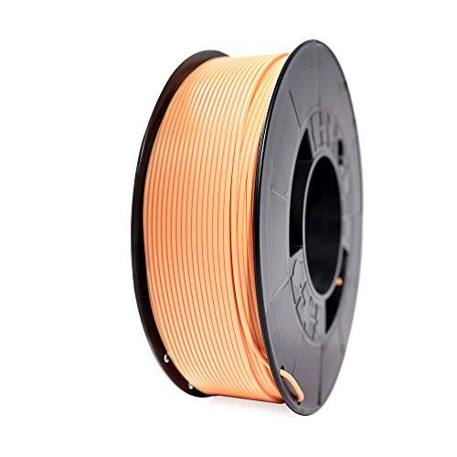 Winkle Filamento PLA HD, 1.75 mm, Marron Piel, Filamento para Impresión 3D, Bobina 1000 gr
