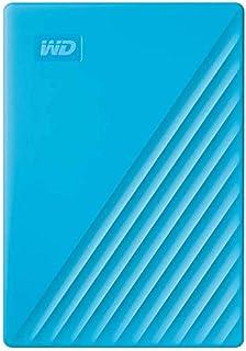 Western Digital 4TB My Passport Portable External Hard Drive, Blue - WDBPKJ0040BBL-WESN