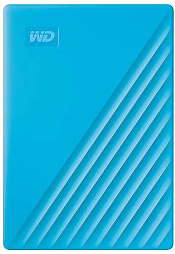 WD 4TB My Passport Portable External Hard Drive, Blue - WDBPKJ0040BBL-WESN