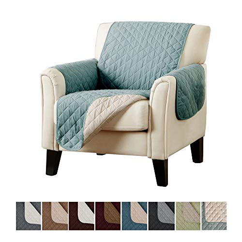 Home Fashion Designs Reversible Chair Protector. Furniture Protectors for Living...