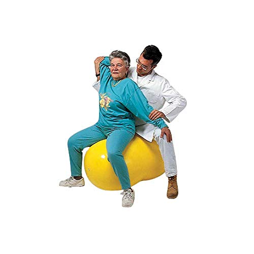 1x Behrend Physio Roll Erdnussball Gymnastikball Doppelball Physioball Fitnessball, 30cm, blau