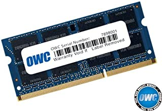 OWC 8.0GB 1333MHz 204-Pin DDR3 SO-DIMM PC3-10600 CL9 Módulo de Memoria, (OWC1333DDR3S8GB)
