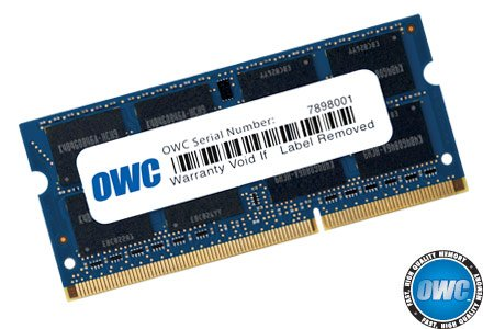 OWC 8.0GB 1333MHz 204-Pin DDR3 SO-DIMM PC3-10600 CL9