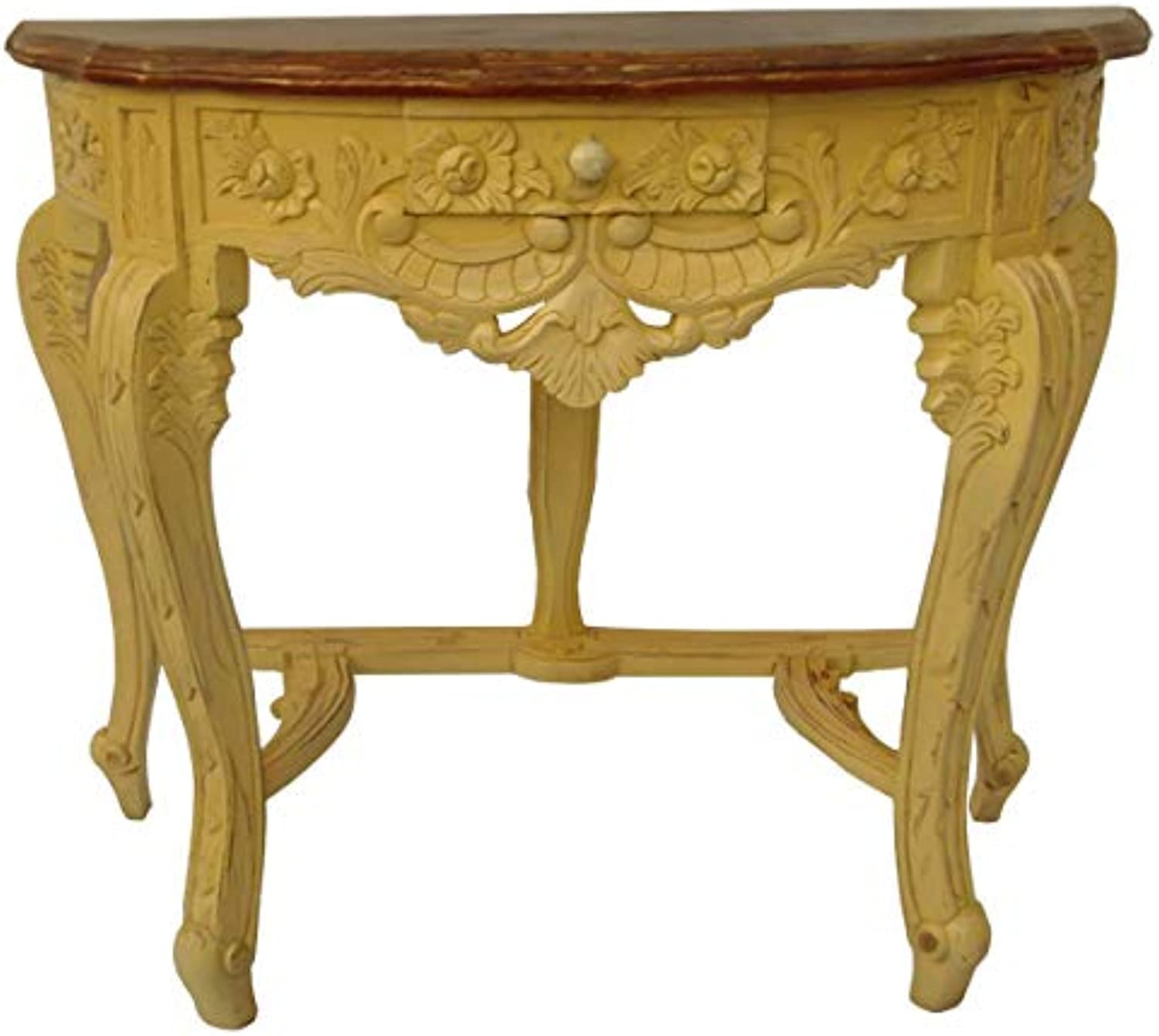 Double Colour Small Carving Console
