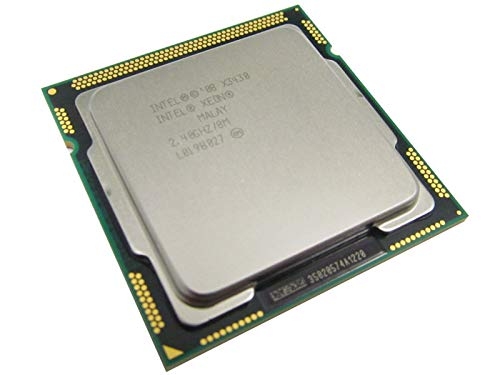 Hewlett Packard Enterprise Intel Xeon X3430 2.4GHz 8MB L3 - Procesador (Intel® Xeon® Secuencia 3000, 2,4 GHz, LGA 1156 (Socket H), Servidor/estación de Trabajo, 45 NM, X3430) (Reacondicionado)