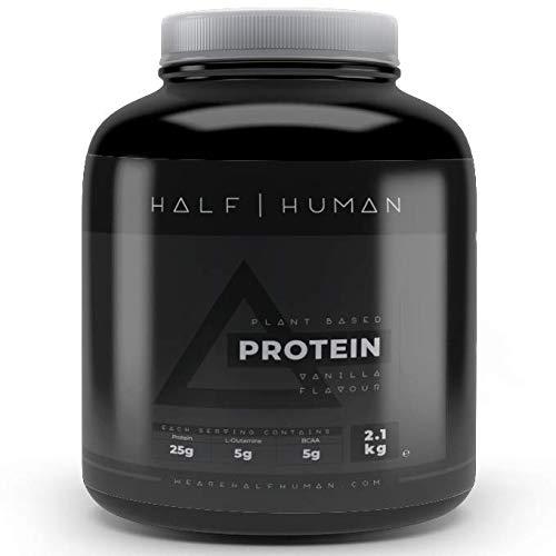 Half Human Plant Based Vegan Protein Blend Vanilla