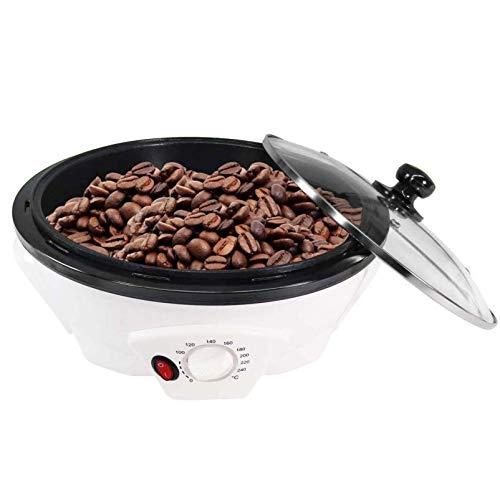 500G Kaffeebohnen Röstmaschine, Haushalts Edelstahl Elektrische Trommel Typ Rotation Kaffeeröster