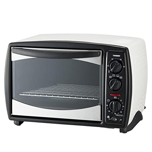 ツインバード コンベクションオーブン ノンフライ 温度調節 ヒーター切替 ピザプレート TS-4119W