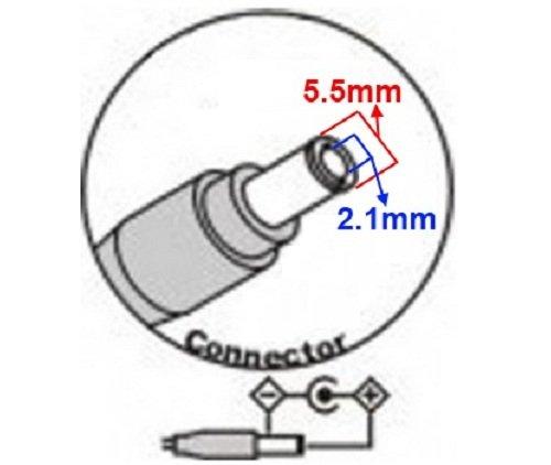 CARGADOR ESP ® Ladegerät Aktuelle 5V 4A 4000mA 20W Stecker: 5.5mm * 2.1mm Output Ausgang ersetzt 5V 1A / 1.5A / 2A / 2.5A / 3A / 3.5A / 4A Netzadapter Netzteil Replacement