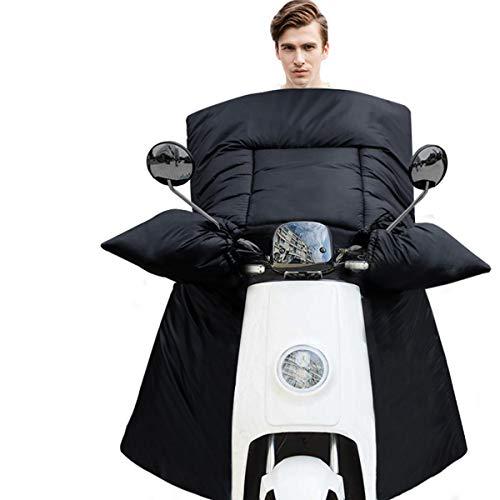 Tram elektrische auto voorruit door de winter, winter warme scooter winddichte Quilt, bedrukte leggings schort winter kleding H