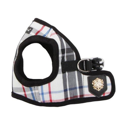 Puppia Authentic Junior Harness B, X-Small, Black