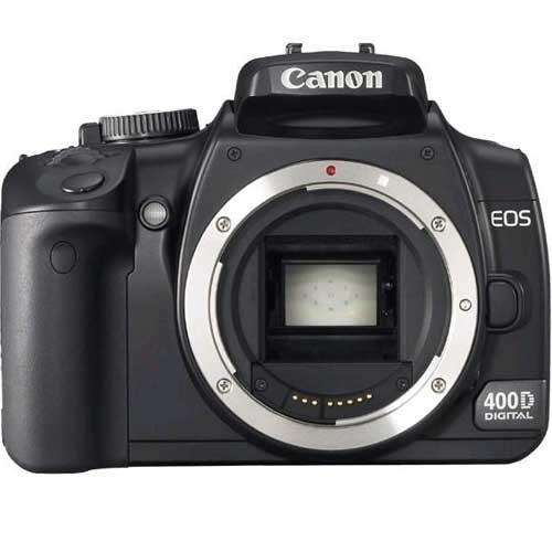 Canon EOS 400D - Cámara Réflex Digital 10 MP (Cuerpo)