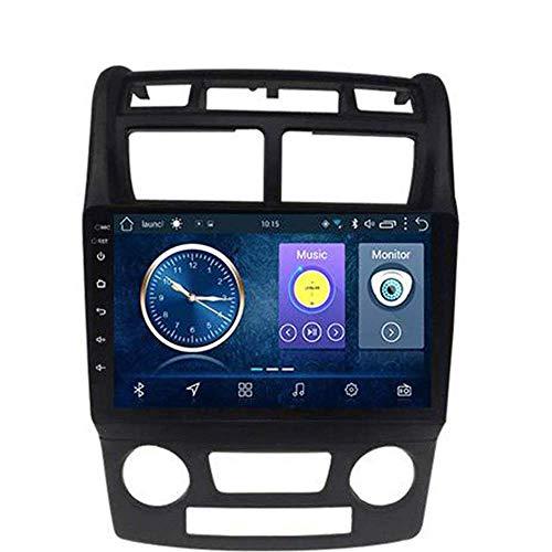 Android 8.1 - Radio de navegación GPS para Kia Sportage 2007 – 2013, con DAB CD DVD control de volante, Bluetooth estéreo SD Mirror Link, WiFi: 1 + 16 G