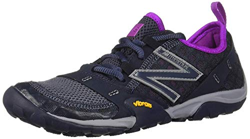 New Balance Women's Minimus 10 V1 Trail Running Shoe, Outerspace/Voltage Violet, 8 W US