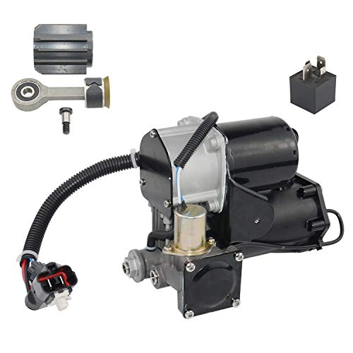 YY-US LR023964 Air Suspension Compressor Pump HITACHI Style with Repair Kit Fit for La-nd Rover Discovery 3 2004-2009 Range Rover Sport 2005-2009 LR072537