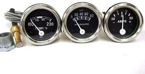 Ford Tractor Amp Popular Oil Temp Gauges Set 9N 8N 600 2N In stock for NAA 6