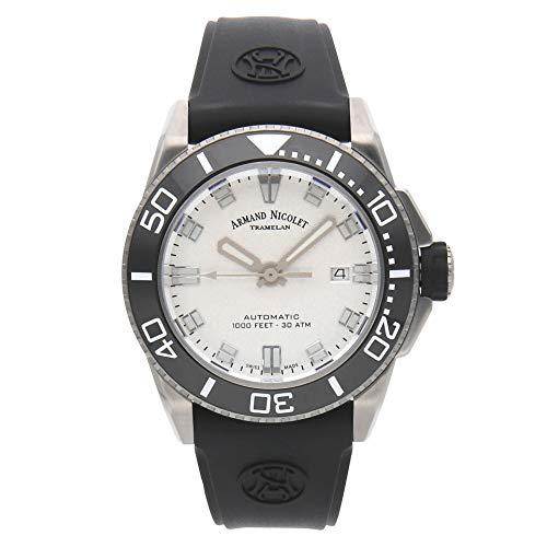 Reloj armand nicolet js9 a480agn-ag-gg4710n automático orologio Uomo...