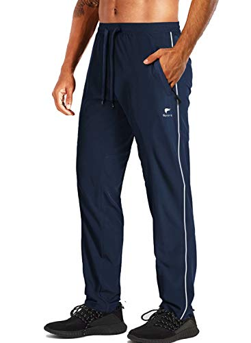 MAGCOMSEN Travel Pants Men Quick Dry Lightweight Sweatpants Workout Pants Hiking Pants Joggers for Men Big Tall Pockets Running Pants Yoga Pants Summer Pants