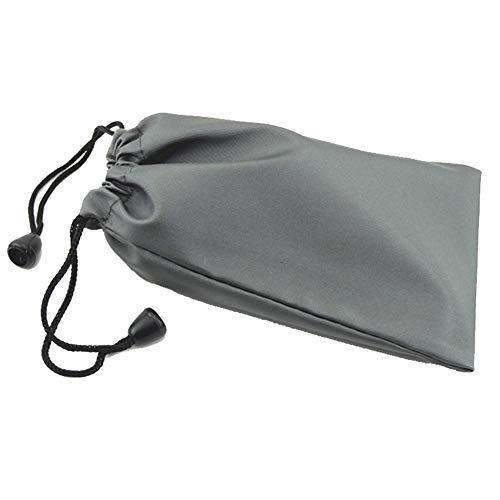 Tragetasche Universal Storage Pouch Handysocke tragbare wasserdichte Tasche Sleeve für Gläser Kopfhörer-Powerbank Grau