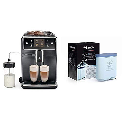 Saeco Xelsis Super Automatic Espresso Machine with extra AquaClean Filter