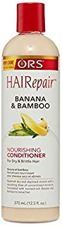 ORS HAIRepair Banana and Bamboo Nourishing Conditioner for Dry and Brittle Hair 12.5 Ounce