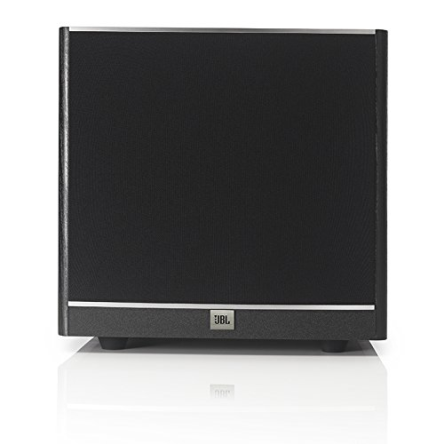 JBL Sub 100 Black 10-Inch Powered Subwoofer with High-Efficiency Class D Amplifier (Black)