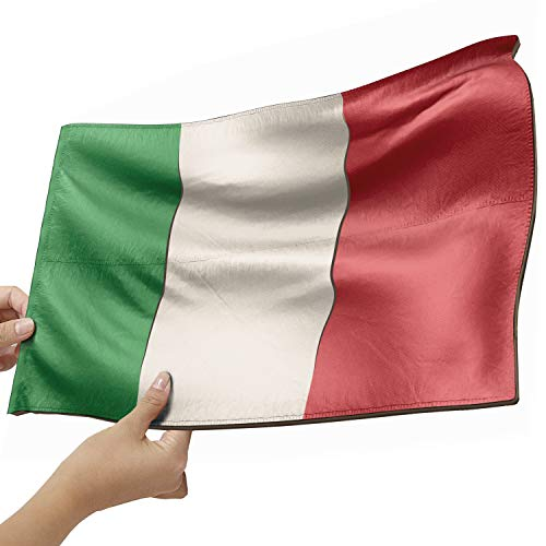 Italien Flagge als Lampe aus Holz - schenke deine individuelle Italien Fahne - italienische Flagge - kreativer Dekoartikel aus Echtholz