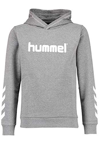 Hummel Unisex Kinder KESS Hoodie NOOS, Medium Melange, 164