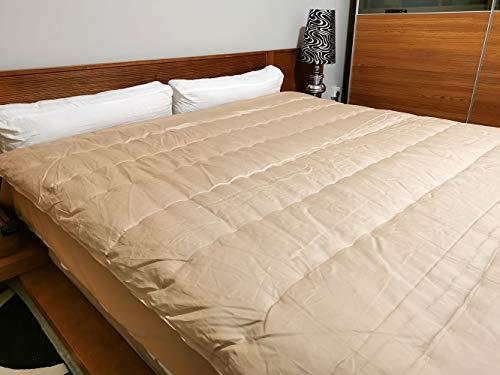 "Camel Wool Comforter (Queen 86""x86"" (218x218 cm), 2500grams/5.5lbs Camel Wool Fillied in)"